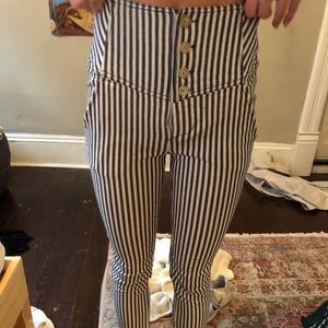 Free people stripped pants